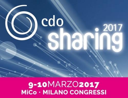 Cdo Sharing 2017. Il 10 Marzo interverrà il nostro Presidente Raffaele Fabbrocini