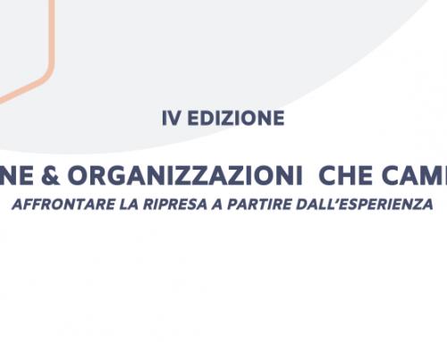 EVENTO ANNUALE 2020 – Persone e organizzazioni che cambiano – IV edizione