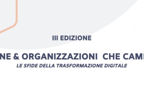 EVENTO ANNUALE 2019 – Persone e organizzazioni che cambiano – III edizione
